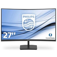Philips E Line 271E1SCA 27 inch LED Curved Monitor - Full HD, 4ms