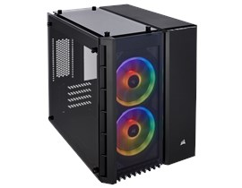 Corsair Crystal Series 280X RGB Case - Black