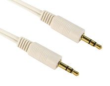 CCL Choice (0.5m) 3.5mm Stereo Male to Male Cable (Gold)