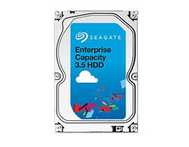 Seagate Enterprise Capacity (4TB) 3.5 inch Hard Drive (7200rpm) 12Gb/s SAS 128MB (Internal) - 4K Native Model