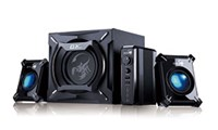 Genius GX Gaming SW-G2.1 2000 - 45W 2.1 Speaker System with Blue LED Lighting *Open Box*