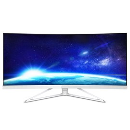 "Philips 349X7FJEW 34"" UWQHD LED Curved Monitor"