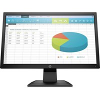 HP P204 19.5 inch LED Monitor - 1600 x 900, 5ms Response, HDMI