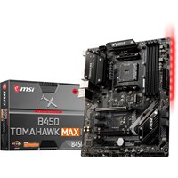 MSI B450 TOMAHAWK MAX II ATX Motherboard for AMD AM4 CPUs