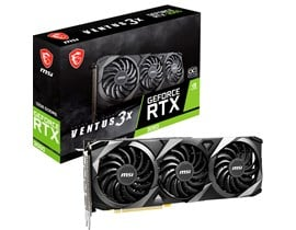 MSI GeForce RTX 3060 Ventus 3X 12GB OC GPU