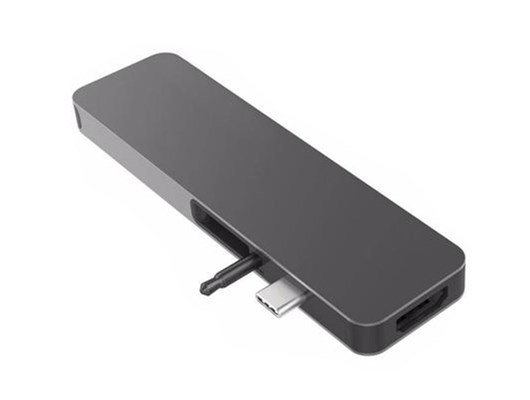 HyperDrive Solo 7-in-1 USB-C Hub (Space Grey) for MacBook, PC and Devices