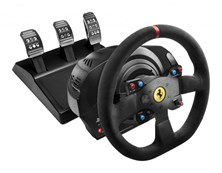 Thrustmaster T300 Ferrari Alcantara Edition Racing Wheel and Pedals for PC, PS4 and PS3