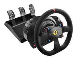 Thrustmaster T300 Ferrari Alcantara Edition Racing Wheel and Pedal Set