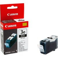 Canon BCI-3eBK Ink Cartridge - Black, 27ml (Yield 1500 Pages)