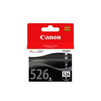Canon CLI-526BK Ink Cartridge - Black, 9ml (Yield 660 Pages)