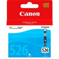 Canon CLI-526C Ink Cartridge - Cyan, 9ml (Yield 207 Photos)