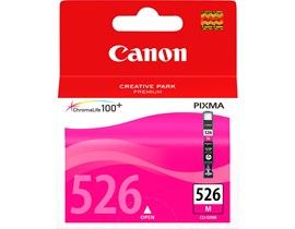 Canon CLI-526M Ink Cartridge - Magenta, 9ml (Yield 204 Photos)