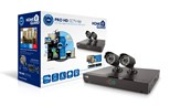 HomeGuard Pro HD 720p CCTV Kit - 4 Channels, 2 Cameras, 500GB Storage
