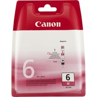 Canon BCI-6M Ink Cartridge - Magenta, 13ml (Yield 430 Pages)