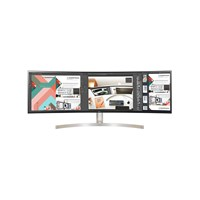 LG 49WL95C-W 49 inch LED IPS Curved Monitor - 5120 x 1440, 5ms