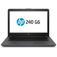 HP 240 G6 14 Laptop - Core i5 2.5GHz, 4GB, 500GB, Windows 10 Pro