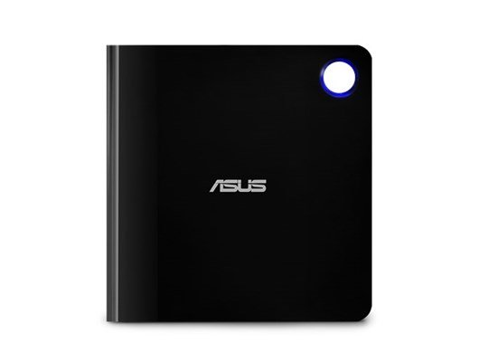 Asus SBW-06D5H-U Ultra-slim External Blu-Ray Writer 6x USB 3.1 A/C M-DISC Support Cyberlink Power2Go 8 *Open Box*