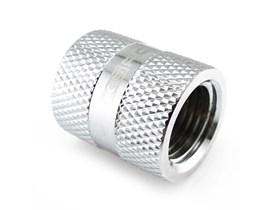 "XSPC G1/4"" Female to Female Rotary Fitting (Chrome)"