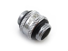 "XSPC G1/4"" 10mm Male to Male Fitting (Chrome) V2"