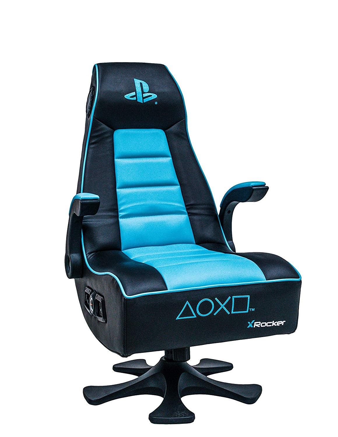 Admirable X Rocker Playstation Infiniti 2 1 Gaming Chair With Speakers 5106001 Machost Co Dining Chair Design Ideas Machostcouk