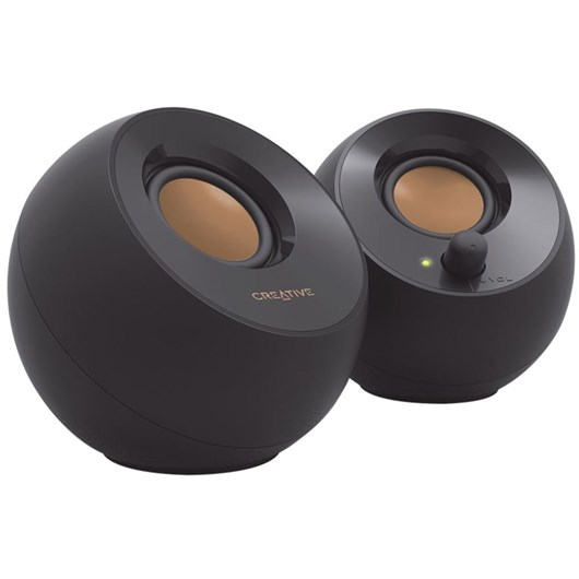 Creative Labs Pebble USB Powered 2.0 Desktop Speakers (Black)