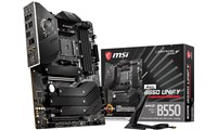 MSI MEG B550 UNIFY ATX Motherboard for AMD AM4 CPUs