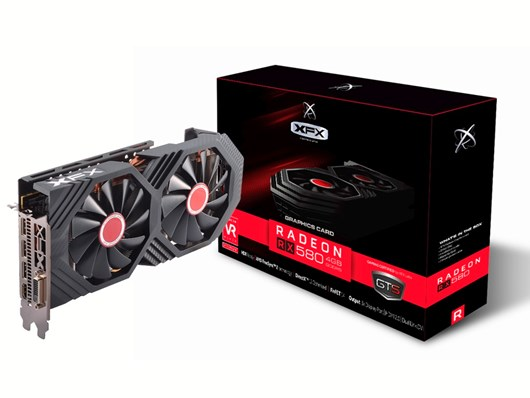 XFX Radeon RX 580 GTS XXX 8GB Graphics Card