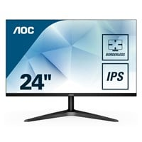 AOC 24B1XHS 23.8 inch LED IPS Monitor - Full HD 1080p, 7ms, HDMI