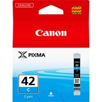 Canon CLI-42C Ink Cartridge - Cyan, 13ml (Yield 600 Photos)