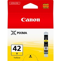 Canon CLI-42Y Ink Cartridge - Yellow, 13ml (Yield 284 Photos)