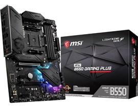 MSI MPG B550 GAMING PLUS AMD Motherboard