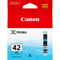 Canon CLI-42PC Ink Cartridge - Photo Cyan, 13ml (Yield 292 Photos)