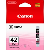 Canon CLI-42PM Ink Cartridge - Photo Magenta, 13ml (Yield 169 Photos)