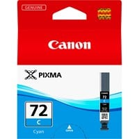 Canon PGI-72C Ink Cartridge - Cyan, 14ml (Yield 525 Photos)