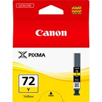 Canon PGI-72Y Ink Cartridge - Yellow, 14ml (Yield 377 Photos)