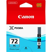 Canon PGI-72PC Ink Cartridge - Photo Cyan, 14ml (Yield 351 Photos)