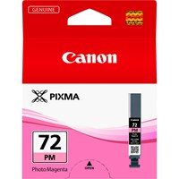 Canon PGI-72PM Ink Cartridge - Photo Magenta, 14ml (Yield 303 Photos)