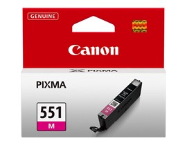 Canon CLI-551M Ink Cartridge - Magenta, 7ml (Yield 298 Pages)