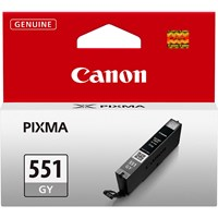 Canon CLI-551GY Ink Cartridge - Grey, 7ml (Yield 125 Photos)
