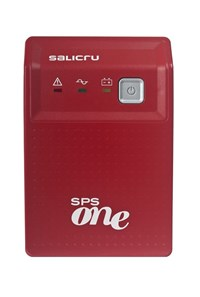 Salicru SPS 700 ONE (700VA) Uninterruptible Power Supply (Red)