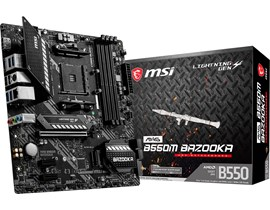 MSI MAG B550M BAZOOKA AMD Socket AM4 Motherboard