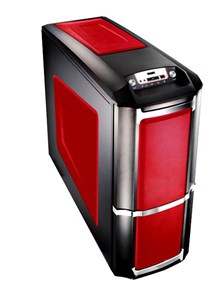 Compucase 6XR9 Xtreme Midi Tower Red Case