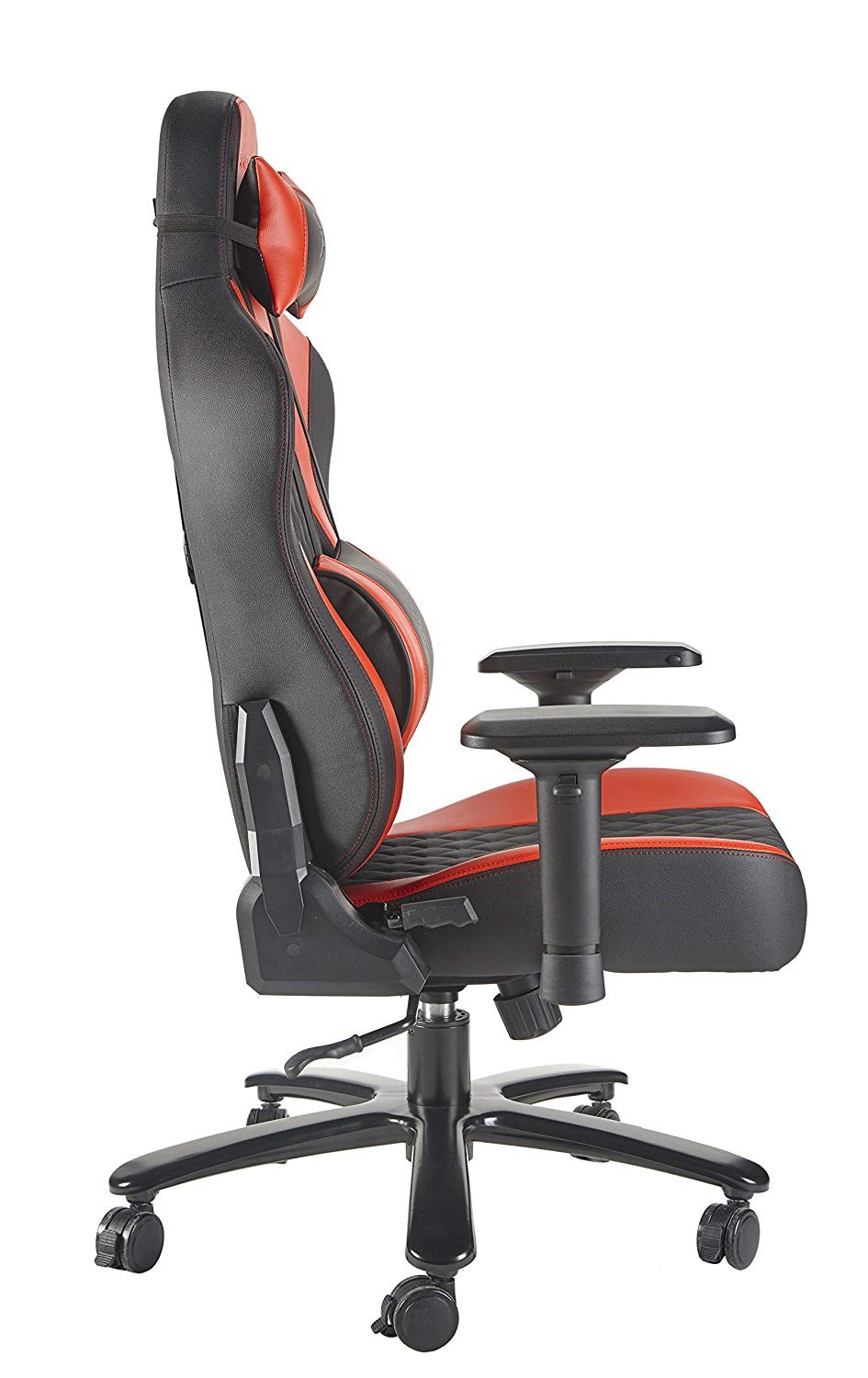 X Rocker Xl Delta Pro Series Gaming Chair Black Red