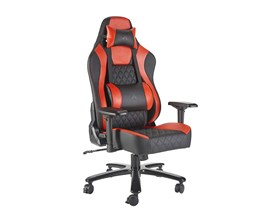 X Rocker Delta XL Office PC Chair (Red/Black)