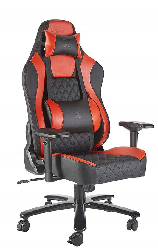 X Rocker XL Delta Pro Series Gaming Chair (Black, Red)