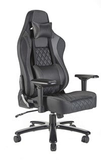 X Rocker XL Delta Pro Series Gaming Chair (Black, Silver)