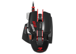 Cougar 700M eSPORTS Gaming Laser Mouse 8200 dpi 3 Profiles 18.6 Million Colour LED Gaming Features Black/Red