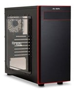 InWin 703 Mid-Tower Case (Black/Red)