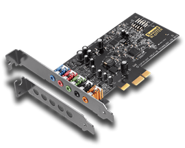 Creative 5.1 Channels Sound Blaster Audigy FX Sound Card