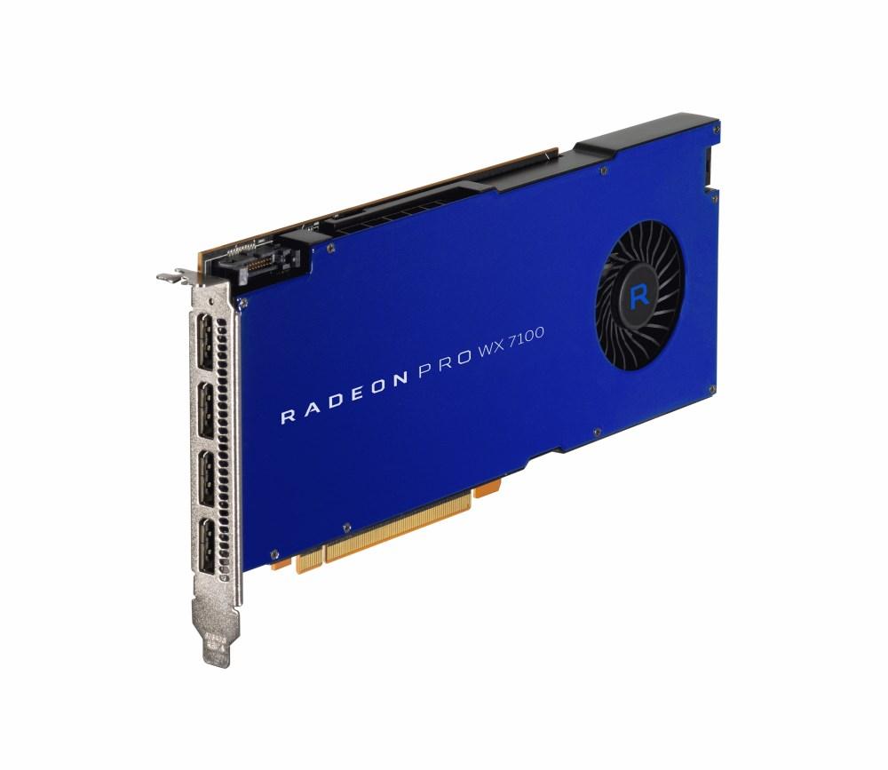 amd radeon pro wx 7100 8gb pro graphics card  100505826